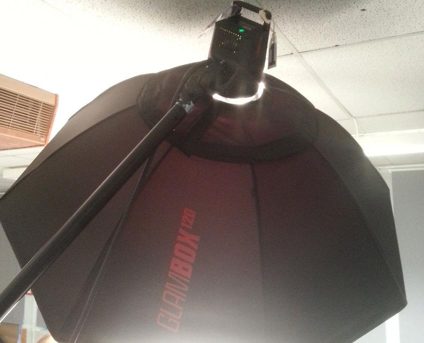 Fotoshoot met Multiblitz apparatuur