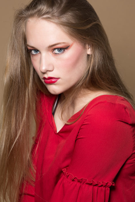 Studio fotoshoot met modellen van BM Model Management.