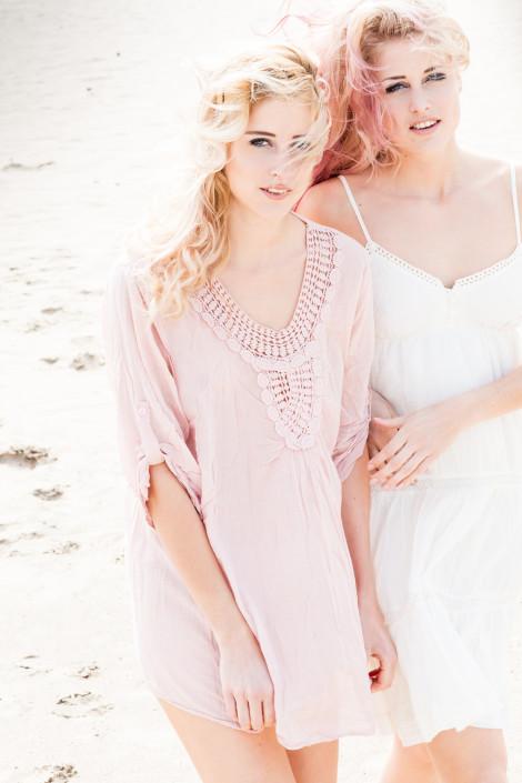 Fashionfotoshoot in de duinen
