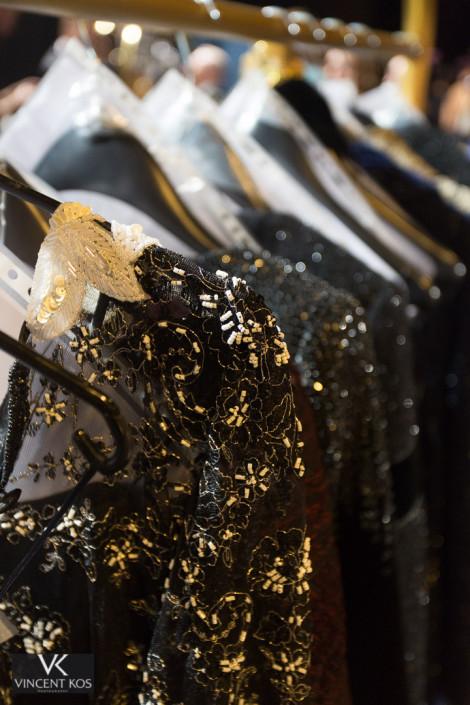 De Haute Couture jubileumshow van Ronald Kolk. 25 jaar. Fotografie Vincent Kos en Lilianne Mantel Locatie de Pické Zaal van Grand hotel Huis ter Duin