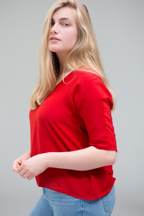 Curvy model fotoshoot