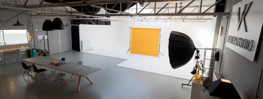 Huur een fotostudio met limbowand